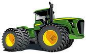 Traktor — Stock vektor
