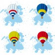 Royalty-Free Stock Vector Image: Hot air balloon