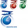 Royalty-Free Stock Vector Image: Around the world