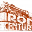 Iron century grunge - Stock Vector
