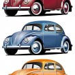 Royalty-Free Stock Vector Image: VW_Beetle