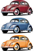 VW_Beetle — Stock Vector