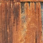 Grunge metal with rivet — Stock Photo