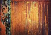 Grunge metaal met klinknagel — Stockfoto