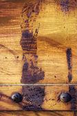 グランジ金属リベット付け — ストック写真