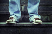 Sport schoen — Stockfoto