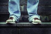 运动鞋的鞋底 — 图库照片