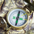 Foto Stock: Old Compass