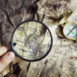 Old Compass — Stock Photo #1492586