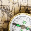 Stock Photo: Old Compass