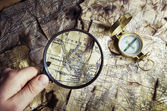 Eski pusula — Stok fotoğraf