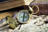 Old Compass — Foto Stock