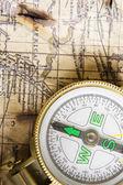 Stary kompas — Zdjęcie stockowe