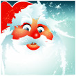 Santa.Vector image — Stock Vector #1460850
