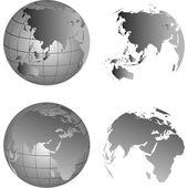 Globe.Vector image — Stock Vector