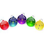 Christmas ball.Vector image — Stock Vector
