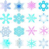 Snow 1.Vector image — Stock Vector