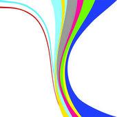 Rainbow.Vector image — Stock Vector