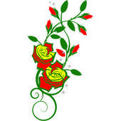 Rose.Vector image — Stock Vector