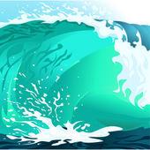 Sea.Vector image — Stock Vector