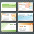 Royalty-Free Stock Vektorfiler: Business cards templates