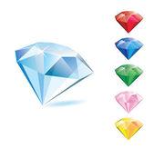 ダイヤモンド — ストックベクタ