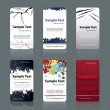 Business cards templates — Stock vektor