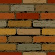 Royalty-Free Stock Векторное изображение: Seamless brick wall
