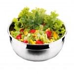 Salad with fresh vegetable — Stock Photo