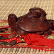 Two wooden turtles — Stock Photo #1475791