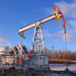 One oil pump extract oil — Stock Photo