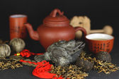 Set for tea ceremony — Stock Photo
