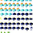 Weather icons — Stock Vector #2279176