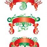 Three ribbon — Stock Vector #1500017