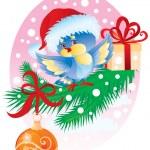 Ptasiek prezentu — Wektor stockowy