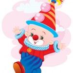 de dansende clown — Stockvector  #1716984