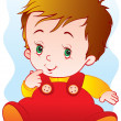 Stock Vector: Kid