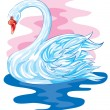 Swan - Imagens vectoriais em stock