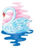 白鳥 — ストックベクタ