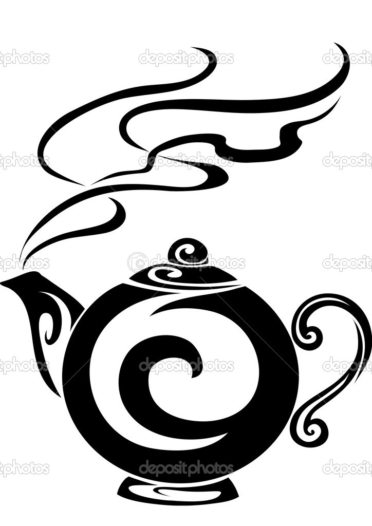 The teapot from which goes pairs — Stock Vector #1804188