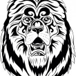 Stock Vector: Lion