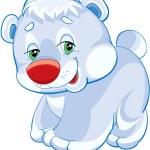 Kutup ayısı — Stok Vektör