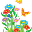 Meadow - Stock Vector