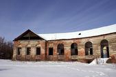 Ala de un edificio de manor — Foto de Stock