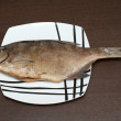 Stock Photo: Fish on the plate