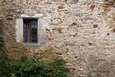 Zamek okno — Zdjęcie stockowe