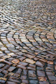 Wet paving stone — Stock Photo