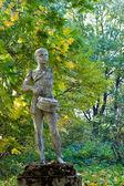 Soviet Pioneer Statue — Stock Photo