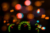 Dashboard in blur — Stock Photo