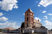 Catholic village church — Stock Photo